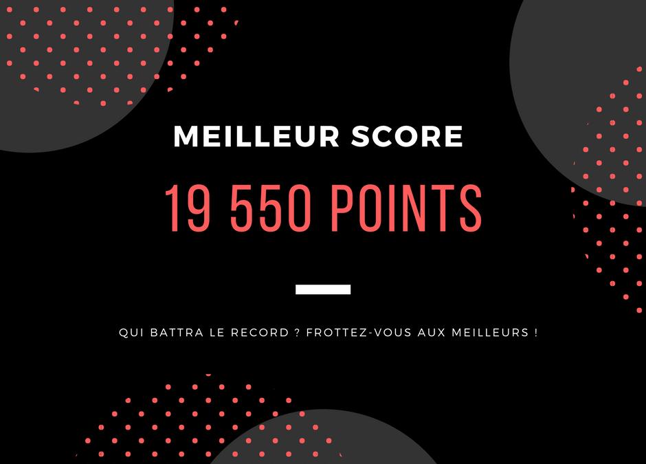 meilleur score laser west martinique